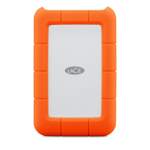 LaCie Rugged USB-C 5TB Portable HDD