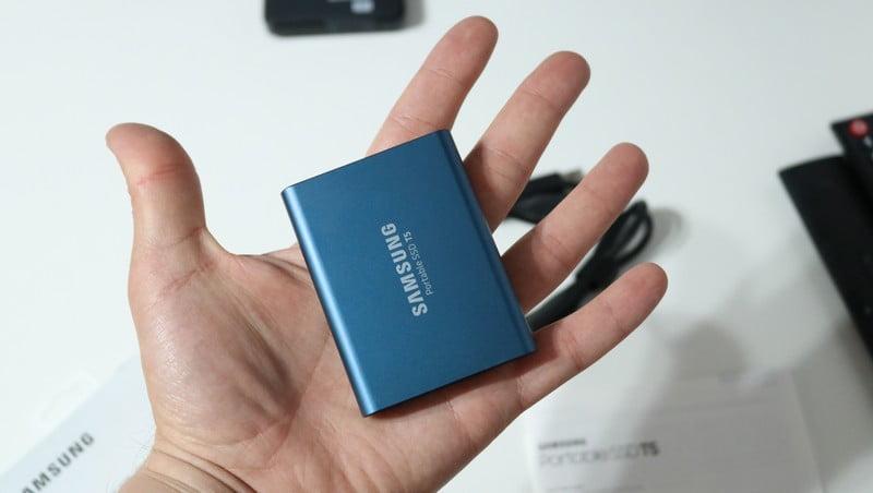 SSD extern Samsung T5 portabil