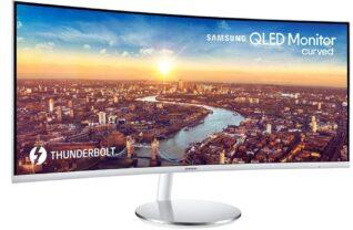 Monitor Samsung CF791 cu Thunderbolt 3