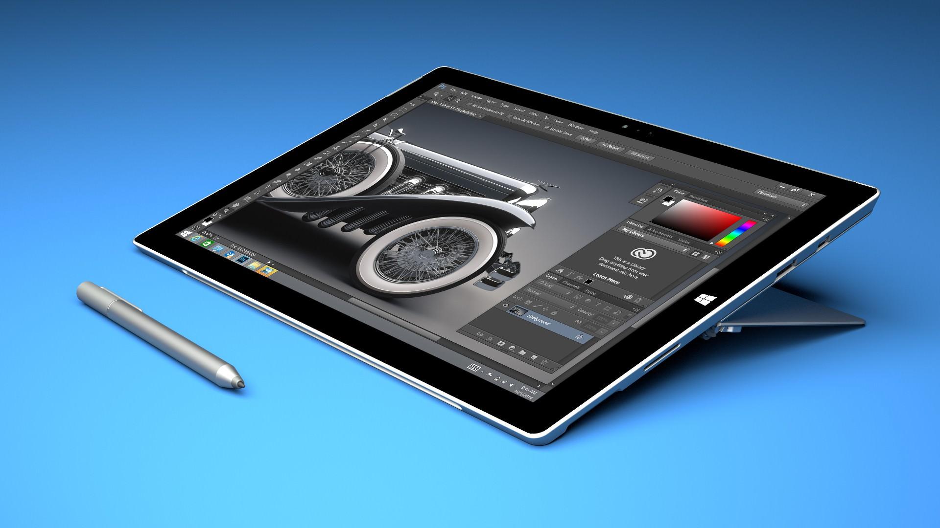 photoshop tableta