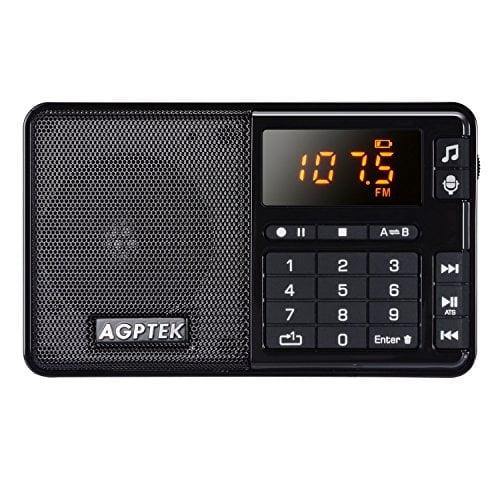 AGPTEK Pocket Radio Recorder