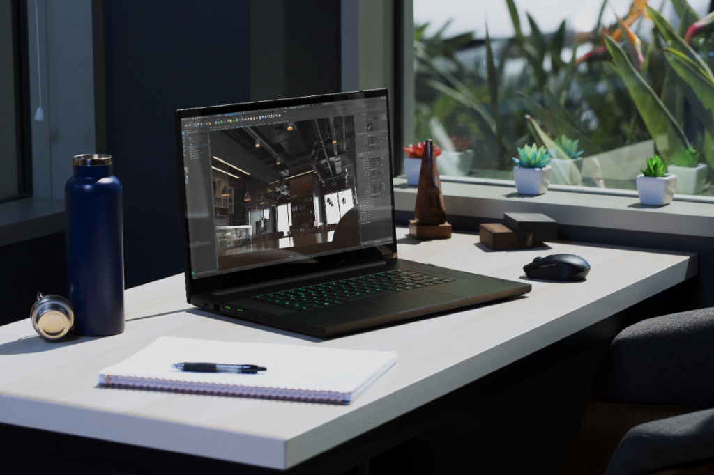 noul laptop Razer Blade 17