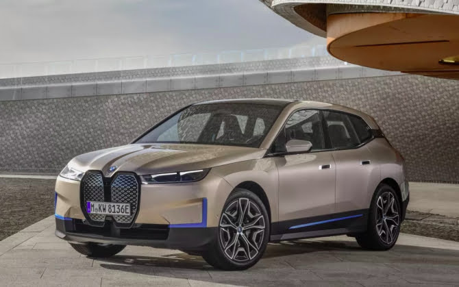 BMW ix suv electric
