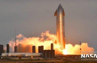 Starship SN8 al SpaceX