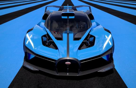 Bugatti's New Hypercar