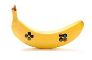 Playstation banana